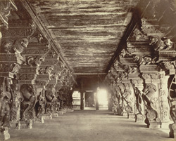 Passage in Temple [Minakshi Sundareshvara Temple, Madura]